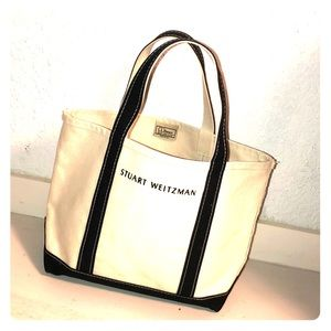 Stuart Weitzman Tote Made by L.L. Bean